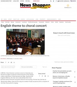 English theme to choral concert (From News Shopper)-1