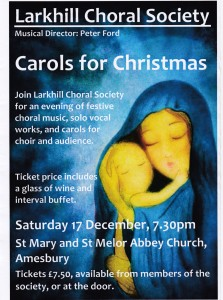 Carols for Christmas Dec 2011