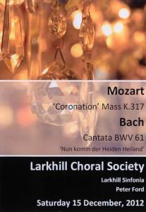 Mozart Coronation Mass in C