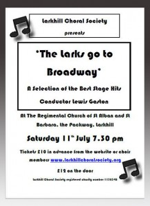 The Larks Go To Broadway
